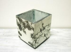 square box planter